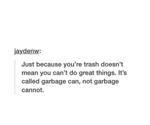 funny, garbage, and lol image