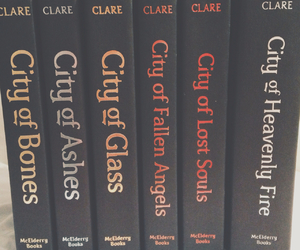book, the mortal instruments, and tmi image