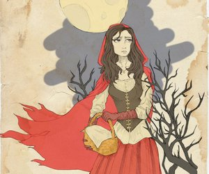 fan art, once upon a time, and red riding hood image