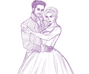 art, fan art, and once upon a time image