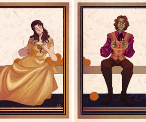 belle, fan art, and once upon a time image