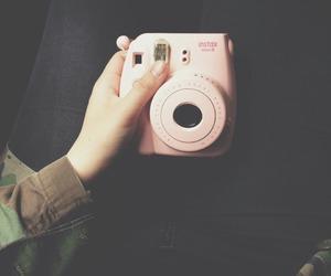 camera and pink image