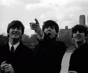 the beatles, Paul McCartney, and ringo starr image