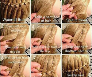 braids, girly, and tutorial image