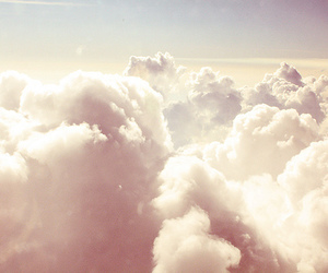 clouds, nuages, and landscapee- image