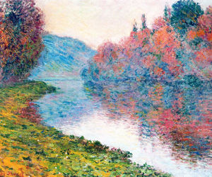 art, claude monet, and monet image