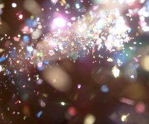 colors, confetti, and sparkle image