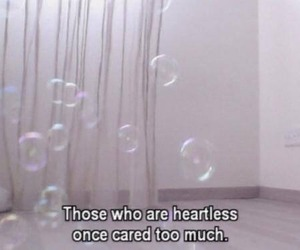 quotes, heartless, and grunge image