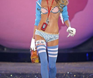 Lindsay Ellingson, pink, and vsfs 2007 image