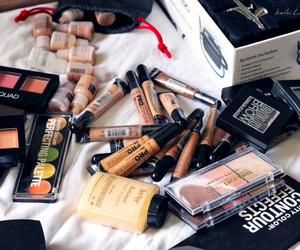 blush, powder, and makeup image