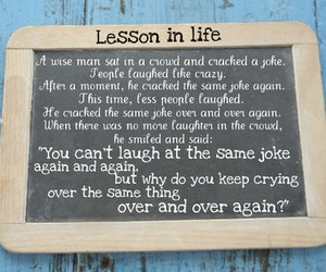 cry, lesson, and joke image