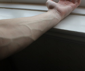 veins, pale, and grunge image