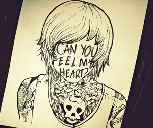 bmth, bring me the horizon, and art image