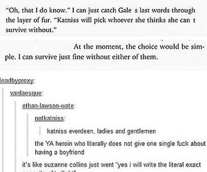 books, fandom, and hunger games image