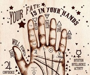 fate, hand, and palmistry image