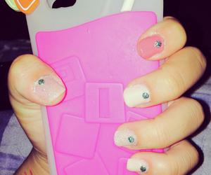 nails, pink, and vs image