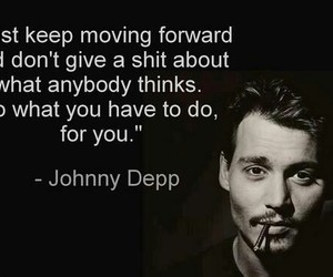 quote, johnny depp, and love image