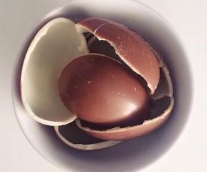 chocolate, eat, and egg image