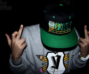 dope, hat, and swag image