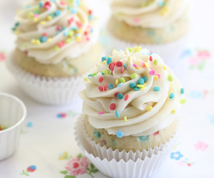 cake batter, sweet, and colorful image