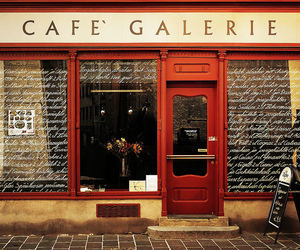 cafe, gallery, and vintage image
