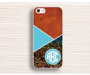 cool iphone 4 case, monogram iphone 4s case, and color iphone 5s case image