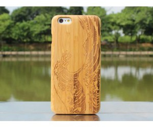 case, iphone case, and wood case image