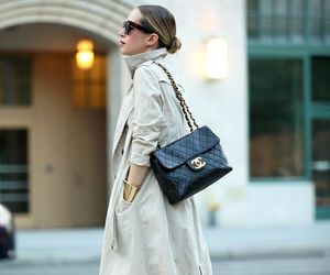 outfit and trench coat image