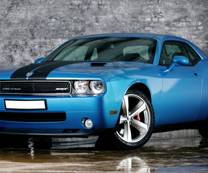 blue, cars, and dodge image