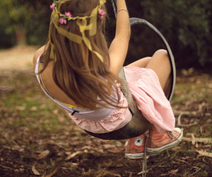 girl, converse, and pink image