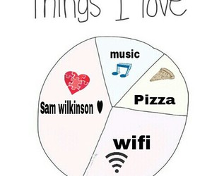 music, pizza, and wifi image