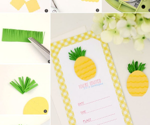 birthday, gift, and pineapple image