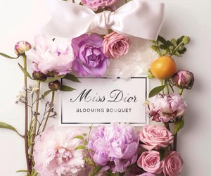 flowers, dior, and miss dior image