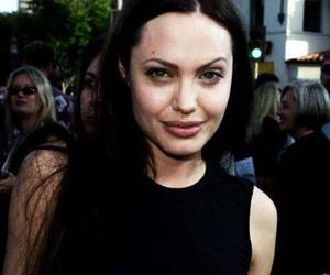 angelina, beautiful, and brad image