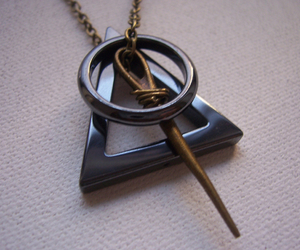 charm, necklace, and invisibility cloak image