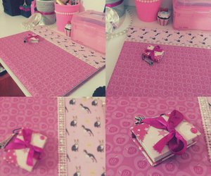 book, d.i.y, and pink image