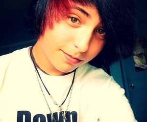 emo, cute, and guy image