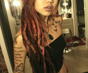 asian, female, and Piercings image