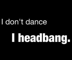 metal, headbang, and music image