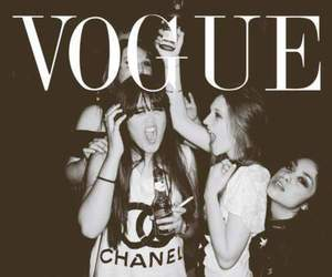 vogue, girl, and chanel image