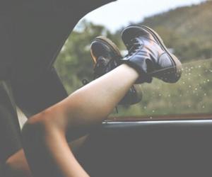 black shoes, car, and hipster image