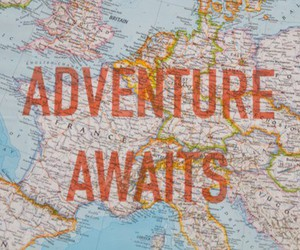adventure, adventure awaits, and traveling image