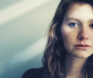blue eyes, girls, and hair image