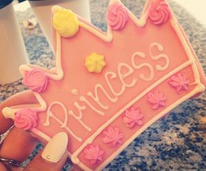 princess, pink, and food image