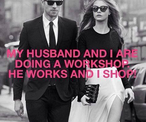husband, shopping, and shop image