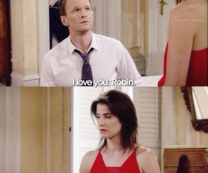 Barney Stinson, cobie smulders, and himym image