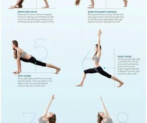 yoga, morning routine, and morning yoga image
