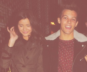 one direction, eleanor calder, and louis tomlinson image