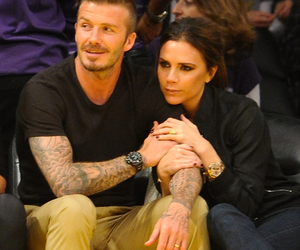 couple, David Beckham, and sweet image
