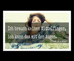 Augen, deutsch, and girl image